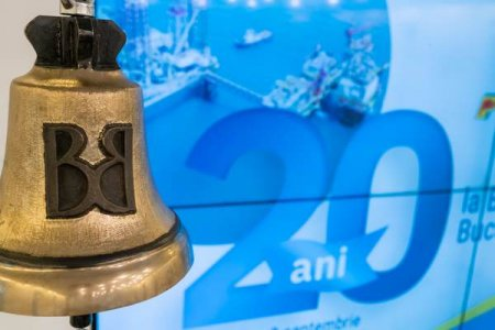 <span style='background:#EDF514'>OMV PETROM</span> aniverseaza 20 de ani de la listarea la Bursa de Valori Bucuresti