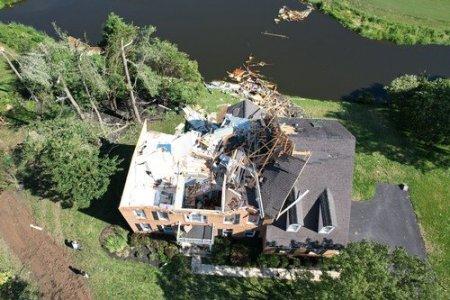 Distrugerile lasate in urma dupa trecerea uraganului Ida prin SUA, in zece imagini