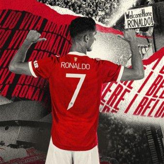 Cavani a renuntat la numarul 7 in favoarea lui Ronaldo. Cum a reactionat <span style='background:#EDF514'>PORTUGHEZUL</span>
