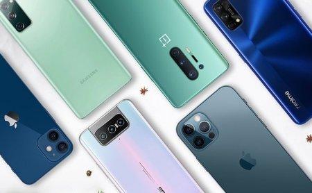 TOP 5 producatori de telefoane in T2 2021: Apple cade pe locul 4, sub <span style='background:#EDF514'>XIAOMI</span> si Oppo