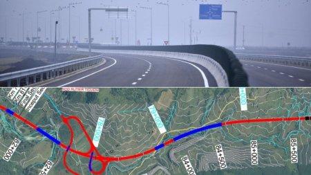 Lotul 4 de <span style='background:#EDF514'>PE AUTOSTRADA</span> A1 Pitesti - Sibiu, cu o lungime de 10 kilometri, construit cu 350 milioane Euro