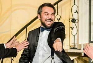 Actorul Andreas Petrescu despre cel mai <span style='background:#EDF514'>JENA</span>nt moment trait in televiziune: Trebuia sa vorbesc, ca doar eram in direct!