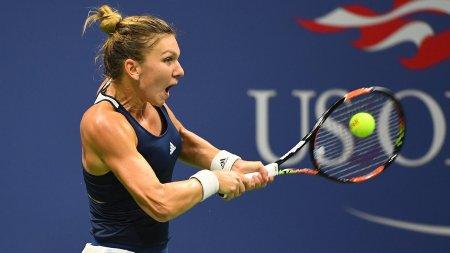 Simona Halep, calificare in optimi la US Open dupa un meci de mare lupta