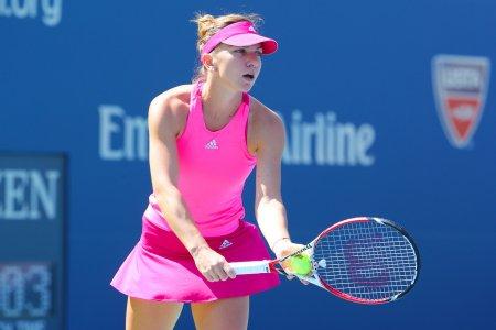 Simona Halep calificare importanta in optimi la US Open. Victorie uriasa a Uraganului Halep