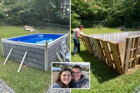 VIDEO La cine se uita americanii: construirea unei piscine a adunat peste 56 de milioane de vizualizari!