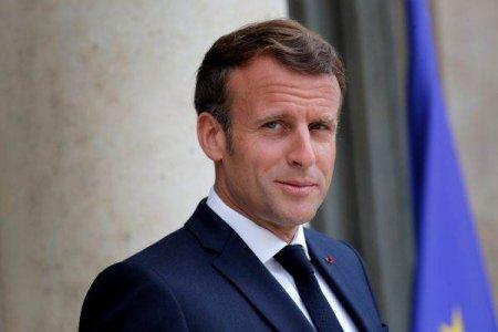 Emmanuel Macron ii primeste pe candidatii CDU si SPD pentru functia de cancelar al Germaniei, ocupata timp de 16 ani de Angela Merkel