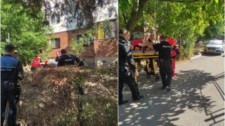 O femeie din Targu Jiu a cazut de la etaj, in timp ce intindea rufe la uscat pe <span style='background:#EDF514'>BALCON</span>