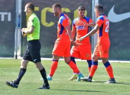 Claudiu Keseru si Vali Gheorghe, la primul in tricoul celor de la FCSB » Debut perfect pentru noile transferuri ale ros-albastrilor
