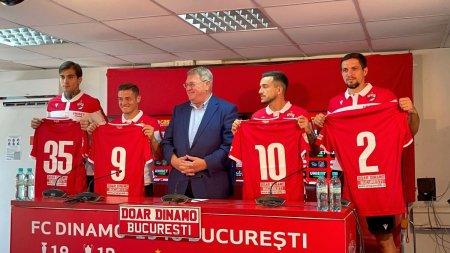 Dinamo si-a prezentat <span style='background:#EDF514'>TRANSFERURI</span>le ca in vremurile bune: Nu ne oprim aici! El va fi dirijorul + primele reactii ale jucatorilor: Noi avem nevoie de Dinamo, nu invers