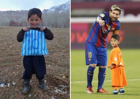 Va rog, salvati-ma. Apelul disperat al unui copil afgan, cunoscut dupa ce a primit tricou de la Leo Messi