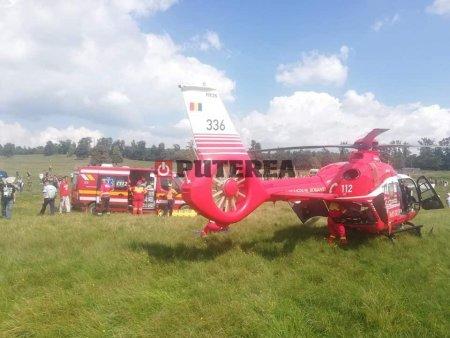 Accident grav la <span style='background:#EDF514'>RALIU</span>l Iasiului, un pilot internat in spital