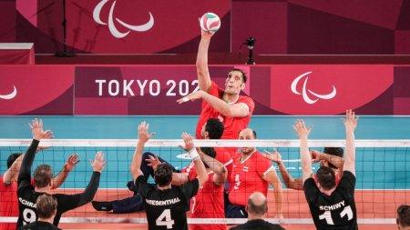 Iranul, aur la Jocurile Paralimpice, la volei. Il are in echipa pe Morteza Mehrzad, al doilea cel mai inalt om de pe planeta