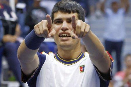 Romanul care l-a infruntat pe Carlos Alcaraz, interviu exclusiv pentru GSP » Secretele din spatele noii senzatii din tenisul masculin