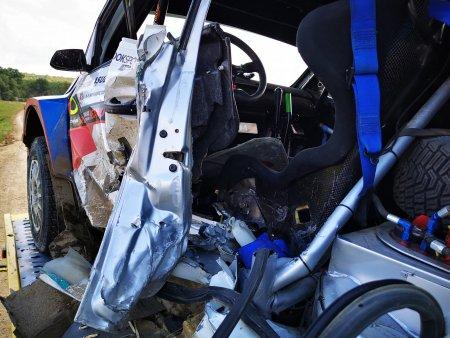 Tragedia zilei in Romania! Pilotul Adrian Raspopa a murit astazi, in urma unui accident violent la Raliul Iasului