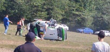 Pilotul Adrian Raspopa a murit in urma accidentului suferit la Raliul Iasului. Conducerea a decis anularea etapei
