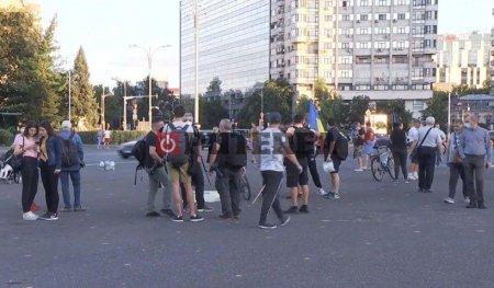 Protest in fata Guvernului: Aparam Justitia, Citu, demisia!