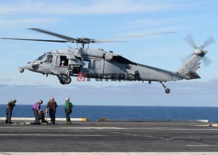 Un <span style='background:#EDF514'>ELICOPTER</span> al armatei americane s-a prabusit in Pacific, cinci morti