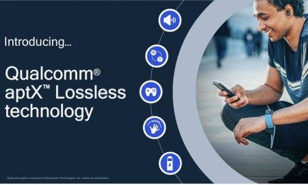 Qualcomm anunta aptX Lossless, un nou codec pentru casti audio bluetooth