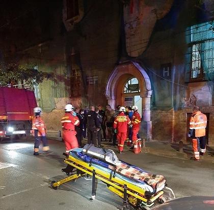 Incendiu la Spitalul de Psihiatrie din Arad