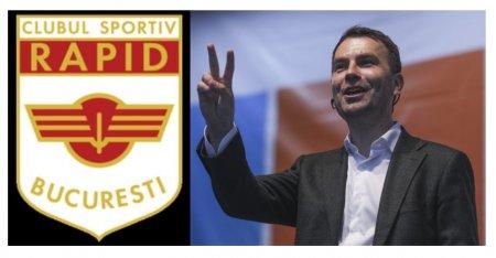 Catalin Drula si-a impus consilierul director la Clubul Sportiv Rapid Bucuresti