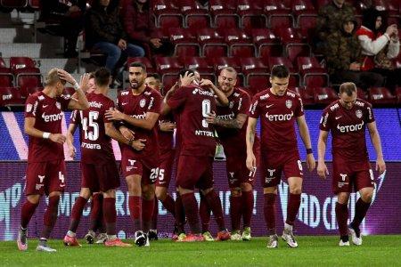CFR Cluj a facut spectacol la primul meci dupa revenirea lui Dan Petrescu la echipa » Victorie ca in curtea scolii impotriva unei echipe de Liga 1