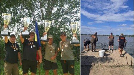 O echipa de pescari bistriteni a doborat cu peste 500 de kg recordul mondial la <span style='background:#EDF514'>PESCUIT</span> de crap