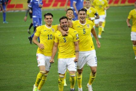 Romania - Liechtenstein 2-0, in preliminariile Cupei Mondiale din 2022. Urmeaza meciul cu Macedonia de Nord