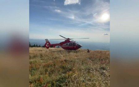 Interventie contracronometru pentru salvarea unui alergator ranit, la 1200 de metri altitudine
