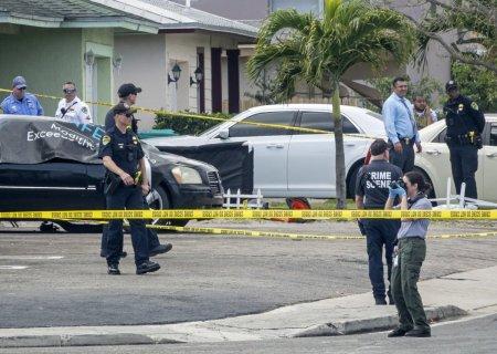 Un fost <span style='background:#EDF514'>PUSCAS</span> marin a impuscat mortal patru persoane in Florida, inclusiv un bebelus de trei luni
