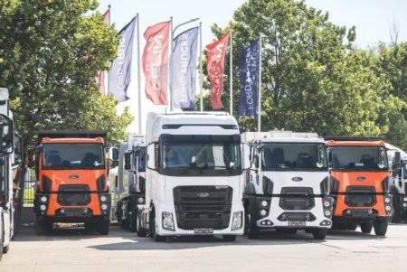 Cefin <span style='background:#EDF514'>TRUCK</span>s, importatorul camioanelor Ford in Romania, a vandut camioane de peste 160 de milioane de euro, iar in urmatoarele 12 luni vrea sa mai livreze inca 1.000