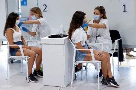 Ce tari europene vaccineaza copiii de peste 12 ani si cati adolescenti au fost imunizati pana acum