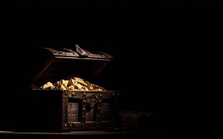 O comoara de obiecte din aur care dateaza din urma cu 1.500 de ani, descoperita in Denemarca