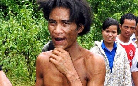Un barbat supranumit Omul junglei, care a trait 40 de ani in padure, a murit de cancer
