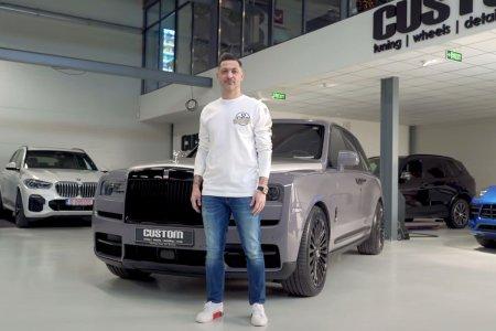 Mirel Radoi si-a dus masinile la modificat » Imagini spectaculoase cu bolizii de sute de mii de euro ai selectionerului