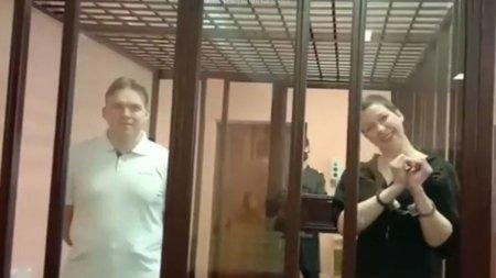 Justitia lui Aleksandr Lukasenko a decis sentinta in cazul activistei anti-regim Maria Kolesnikova. Femia si-a primit verdictul in cusca cu <span style='background:#EDF514'>GRATII</span>