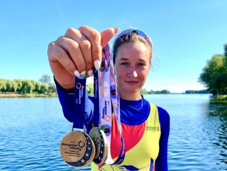 Dupa Jocurile Olimpice, Simona Radisa luat doua medalii de aur si la Europenele de tineret: A fost un test de mandrie pentru mine!