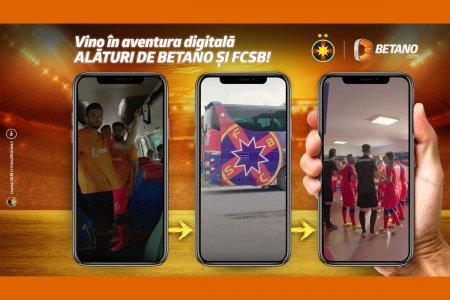 Betano si FCSB lanseaza primul joc <span style='background:#EDF514'>INTERACTIV</span> pe Instagram, dedicat fanilor adevarati