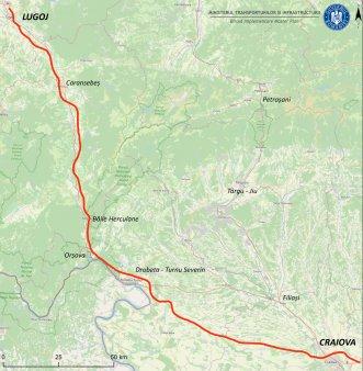 Cinci oferte depuse pentru proiectarea drumului de mare viteza Craiova-Lugoj