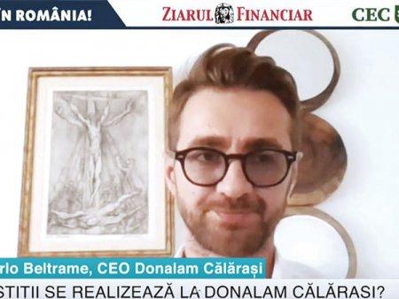 ZF Investiti in Romania! Carlo Beltrame, Donalam: Romania genereaza anual  1,5-3 milioane de tone de fier vechi anual care merge la export in Turcia, Bulgaria, Italia si mai departe. Noi vrem sa captam acest fier vechi si sa il valorificam intr-o noua fabrica de 300 mil. euro de otel-<span style='background:#EDF514'>BETON</span> si sarma laminata
