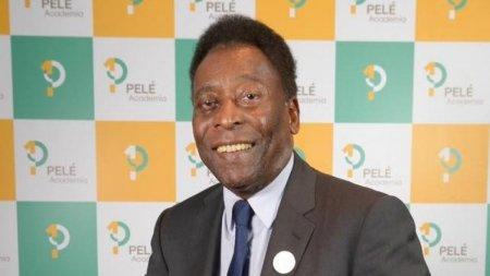Marea legenda a fotbalului, Pelé, este internat in spital de mai multe zile