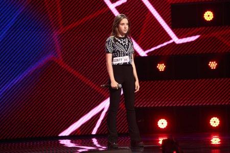 X Factor 2021, 6 septembrie. Jacqueline Craciun a reusit sa-i convinga pe jurati cu a doua piesa Scared to be lonely