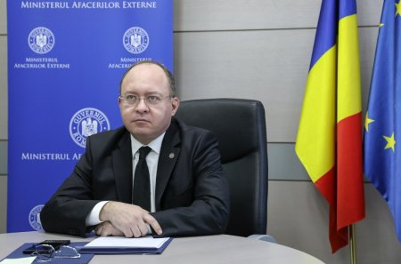 Ministrul de Externe, Bogdan Aurescu, se intalneste cu omologul din Republica Moldova, <span style='background:#EDF514'>NICOLAE P</span>opescu