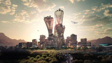 Planurile unui om de afaceri pentru un nou oras de 400 de miliarde de dolari, construit in <span style='background:#EDF514'>DESERT</span>ul american