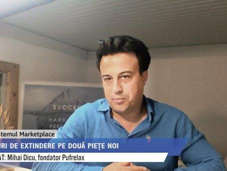 ZF Ecosistemul Marketplace. Mihai Dicu, fondator Pufrelax, ce produce si comercializeaza fotolii de tip <span style='background:#EDF514'>BEAN</span> bag. Anul acesta vizam extinderea pe piata din Grecia, dar si pe cea din Ungaria - prin platforma eMAG marketplace. Investitia se ridica la 70.000 de euro