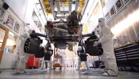NASA anunta ca a colectat primul esantion de <span style='background:#EDF514'>ROCA</span> de pe Marte