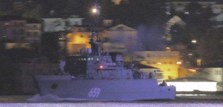 Moscova intareste flota de lupta din Marea Neagra cu dragorul Vladimir Emelyanov