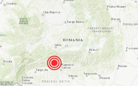 Cutremur de 3,5 grade, in <span style='background:#EDF514'>VALCEA</span>. S-a produs la o adancime de doar 2 km