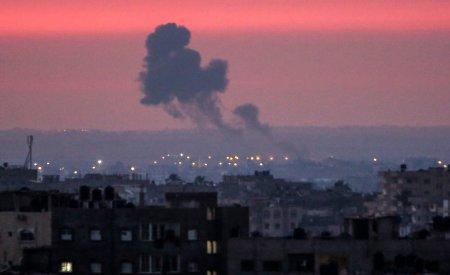 Tensiunea se reaprinde in Orientul Mijlociu! Israel a bombardat Fasia Gaza