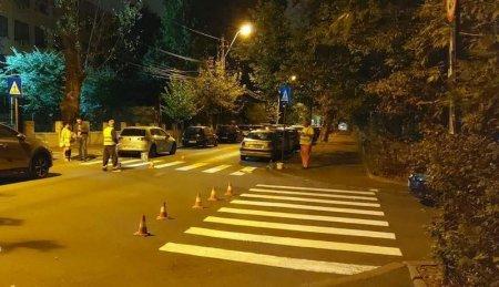 Primaria Capitalei continua lucrarile de trasare a marcajelor rutiere