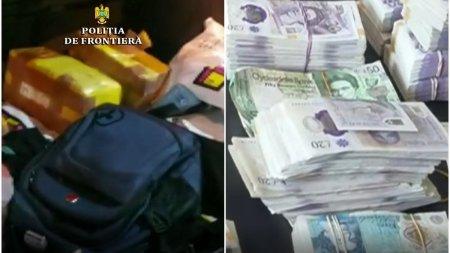 Peste 480.000 de lire sterline, in portbagajul unui bolid de lux care iesea din Romania